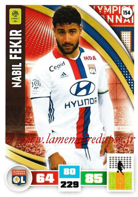 2016-17 - Panini Adrenalyn XL Ligue 1 - N° 154 - Nabil FEKIR (Lyon)