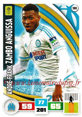 2016-17 - Panini Adrenalyn XL Ligue 1 - N° 180 - André-Franck ZAMBO ANGUISSA (Marseille)