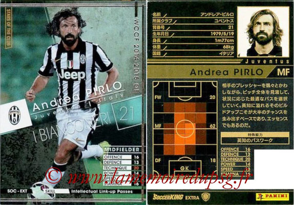 2014-15 - WCCF - N° SOC-EXT11 - Andrea PIRLO (Juventus FC) (Stars of The Club) (Extra)