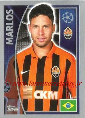 2015-16 - Topps UEFA Champions League Stickers - N° 056 - MARLOS (FC Shakhtar Donetsk)