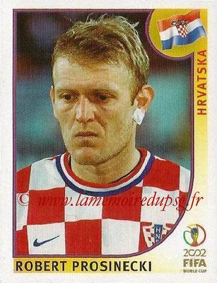2002 - Panini FIFA World Cup Stickers - N° 486 - Robert PROSINECKI (Croatie)