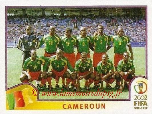 2002 - Panini FIFA World Cup Stickers - N° 367 - Equipe Cameroun