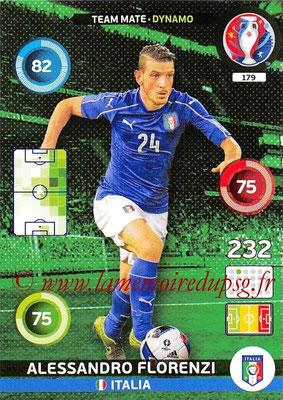 Panini Euro 2016 Cards - N° 179 - Alessandro FLORENZI (Italie) (Dynamo)