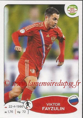 2014 - Panini Road to FIFA World Cup Brazil Stickers - N° 335 - Viktor FAYZULIN (Russie)