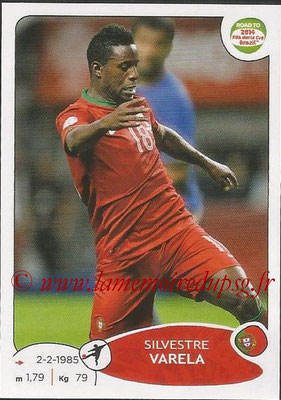 2014 - Panini Road to FIFA World Cup Brazil Stickers - N° 326 - Silvestre VARELA (Portugal)