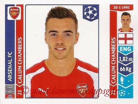 2014-15 - Panini Champions League N° 265 - Calum CHAMBERS (Arsenal FC)