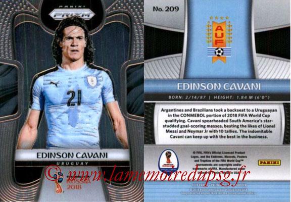 N° 209 - Edinson CAVANI (2013-??, PSG > 2018, Uruguay)