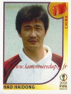 2002 - Panini FIFA World Cup Stickers - N° 220 - Hao HAIDONG (Chine)