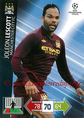 2012-13 - Adrenalyn XL champions League N° 123 - Joleon LESCOTT (Manchester City FC)