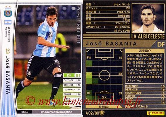 2012-13 - WCCF - N° A02 - Jose BASANTA (Argentine)
