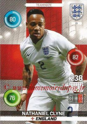 Panini England 2016 Adrenalyn XL - N° 015