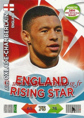 2014 - Panini Road to FIFA World Cup Brazil Adrenalyn XL - N° 069 - Alex OXLADE-CHAMBERLAIN (Angleterre)