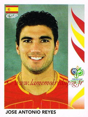 2006 - Panini FIFA World Cup Germany Stickers - N° 546 - Jose Antonio REYES (Espagne)