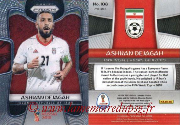 2018 - Panini Prizm FIFA World Cup Russia - N° 108 - Ashkan DEJAGAH (Iran)