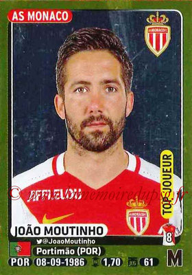 2015-16 - Panini Ligue 1 Stickers - N° 247 - Joao MOUTINHO (AS Monaco) (Top joueur)