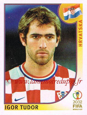 2002 - Panini FIFA World Cup Stickers - N° 479 - Igor TUDOR (Croatie)