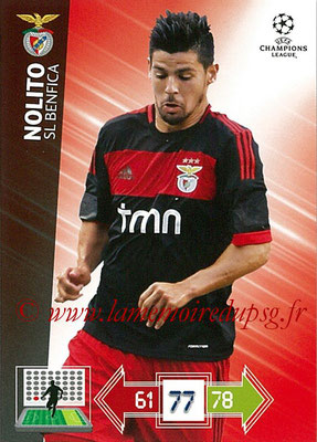2012-13 - Adrenalyn XL champions League N° 066 - NOLITO (SL Benfica)