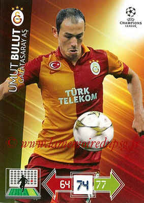 2012-13 - Adrenalyn XL champions League N° 108 - Umut BULUT (Galatasaray AS)