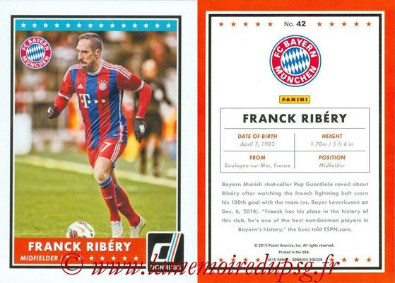 2015 - Panini Donruss Soccer - N° 042 - Franck RIBERY (FC Bayern Munich)