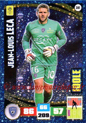 2016-17 - Panini Adrenalyn XL Ligue 1 - N° 381 - Jean-Louis LECA (Bastia) (Idole)