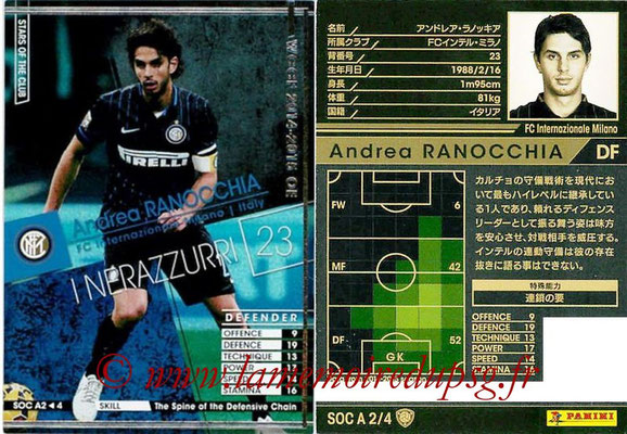2013-14 - WCCF - N° SOC A2 - Andrea RANOCCHIA (FC Inter Milan) (Stars Of The Club)