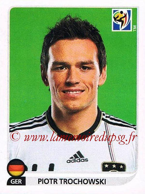 2010 - Panini FIFA World Cup South Africa Stickers - N° 271 - Piotr TROCHOWSKI (Allemagne)