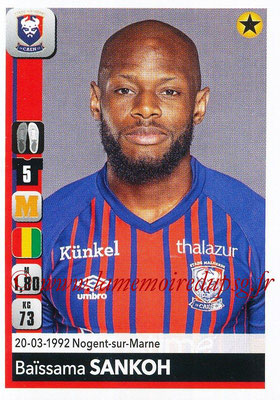 2018-19 - Panini Ligue 1 Stickers - N° 091 - Baïssama SANKOH (Caen)