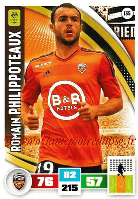 2016-17 - Panini Adrenalyn XL Ligue 1 - N° 135 - Romain PHILIPPOTEAUX (Lorient)
