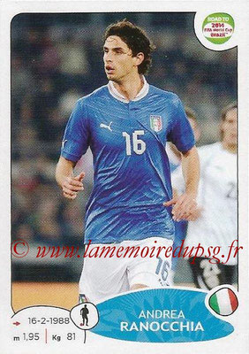 2014 - Panini Road to FIFA World Cup Brazil Stickers - N° 024 - Andrea RANOCCHIA (Italie)