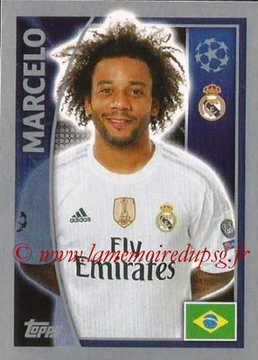 2015-16 - Topps UEFA Champions League Stickers - N° 034 - MARCELO (Real Madrid CF)