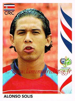 2006 - Panini FIFA World Cup Germany Stickers - N° 049 - Alonso SOLIS (Costa Rica)