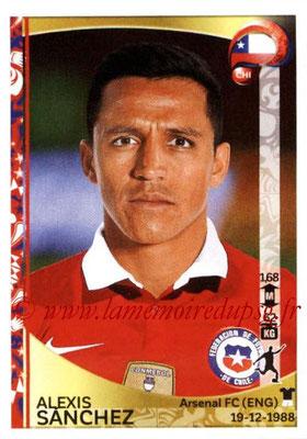 Panini Copa America Centenario USA 2016 Stickers - N° 349 - Alexis SANCHEZ (Chili)