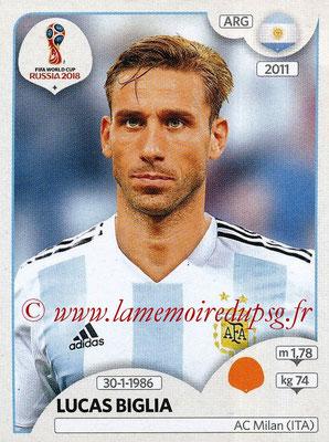 2018 - Panini FIFA World Cup Russia Stickers - N° 281 - Lucas BIGLIA (Argentine)