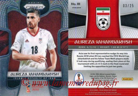 2018 - Panini Prizm FIFA World Cup Russia - N° 111 - Alireza JAHANBAKHS (Iran)