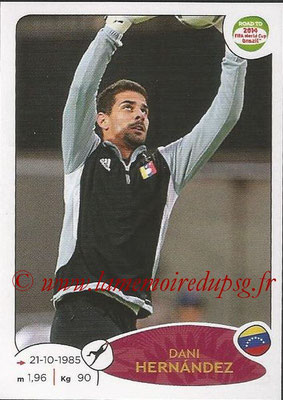 2014 - Panini Road to FIFA World Cup Brazil Stickers - N° 229 - Dani HERNANDEZ (Vénézuela)