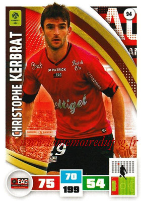 2016-17 - Panini Adrenalyn XL Ligue 1 - N° 094 - Christophe KERBRAT (Guingamp)