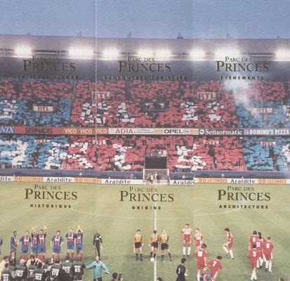 N° 122 à 127 - Parc des Princes - Le Stade (Recto)