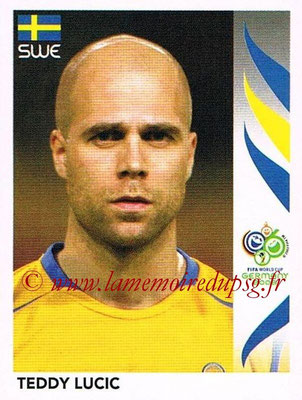 2006 - Panini FIFA World Cup Germany Stickers - N° 155 - Teddy LUCIC (Suède)