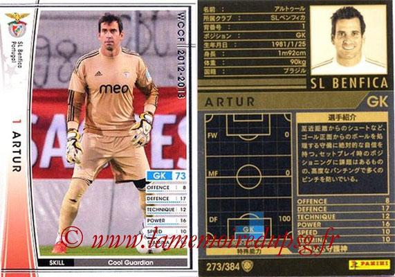 2012-13 - WCCF - N° 273 - ARTUR (SL Benfica)