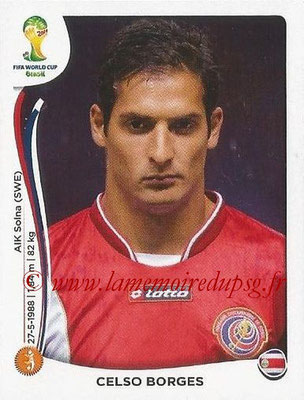 2014 - Panini FIFA World Cup Brazil Stickers - N° 291 - Celso BORGES (Costa Rica)