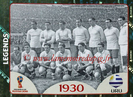 2018 - Panini FIFA World Cup Russia Stickers - N° 675 - Uruguay 1930 (FIFA World Cup Legends)