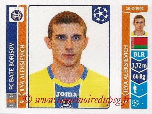 2014-15 - Panini Champions League N° 629 - Ilya ALEKSIEVICH (FC Bate Borisov)