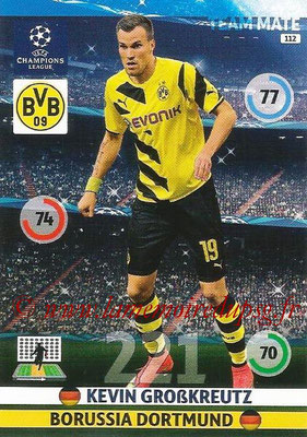 2014-15 - Adrenalyn XL champions League N° 112 - Kevin GROSSKREUTZ (Borussia Dortmund)