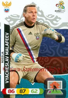 Panini Euro 2012 Cards Adrenalyn XL - N° 190 - Vyacheslav MALAFEEV (Russie)