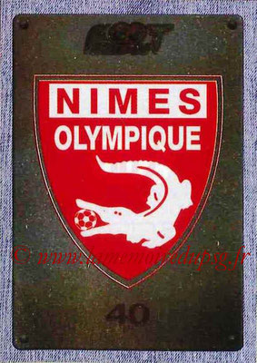 2015-16 - Panini Ligue 1 Stickers - N° 507 - Ecusson Nîmes Olympique