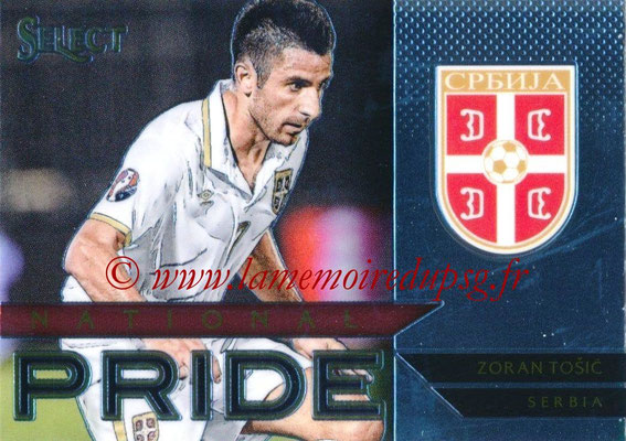 2015 - Panini Select Soccer - N° NP36 - Zoran TOSIC (Serbie) (National Pride)