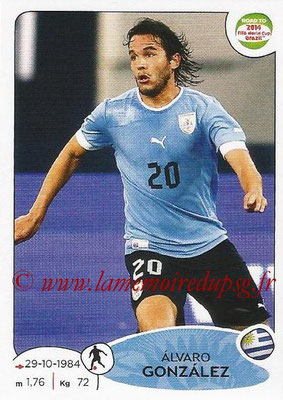 2014 - Panini Road to FIFA World Cup Brazil Stickers - N° 083 - Alvaro GONZALEZ (Uruguay)