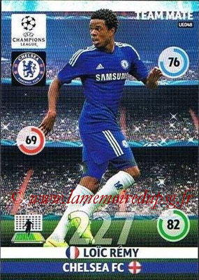 2014-15 - Adrenalyn XL champions League Update edition N° UE048 - Loïc REMY (Chelsea FC)