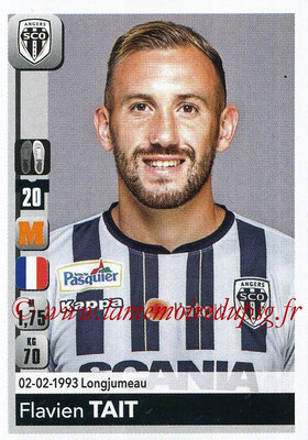 2018-19 - Panini Ligue 1 Stickers - N° 042 - Flavien TAIT (Angers)