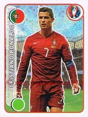 Panini Euro 2016 Stickers - N° 597 - Cristiano RONALDO (Portugal)